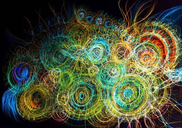 Energetické obrázky jsou automatická kresba využitá pro terapii