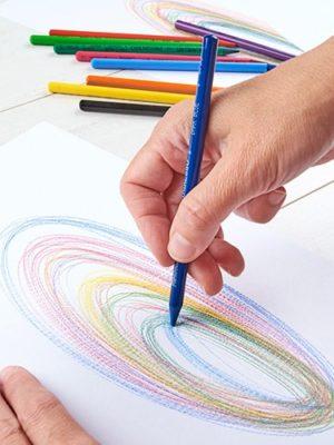 Ruka kreslící automatickou kresba a aurogram