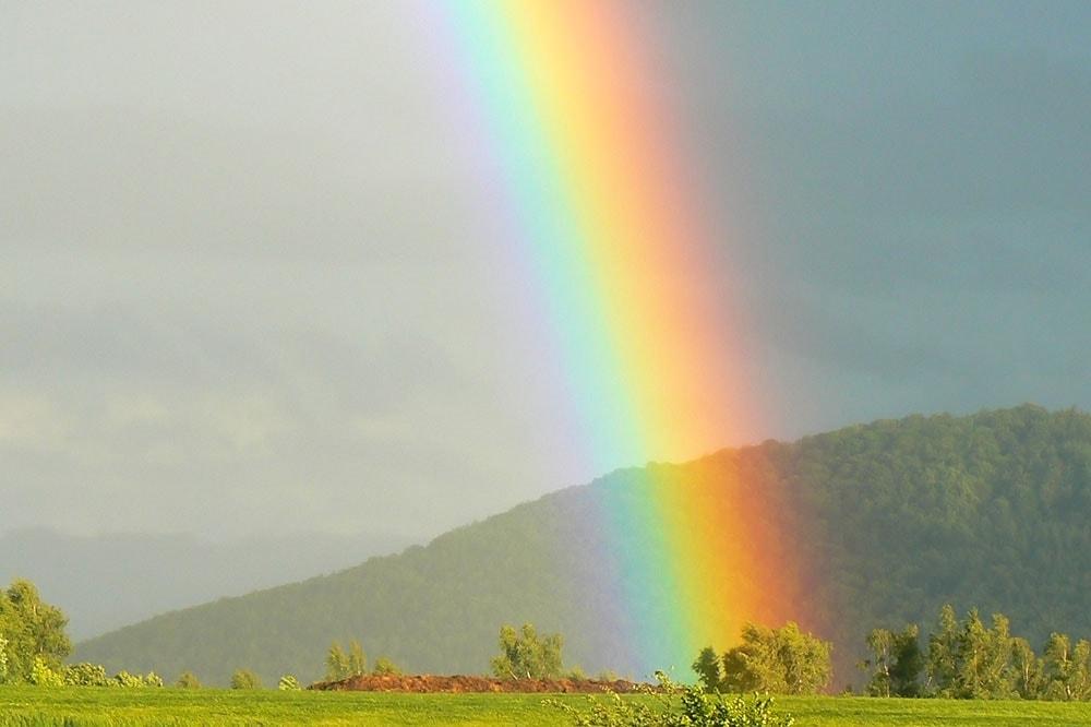 Duha a barevné spektrum